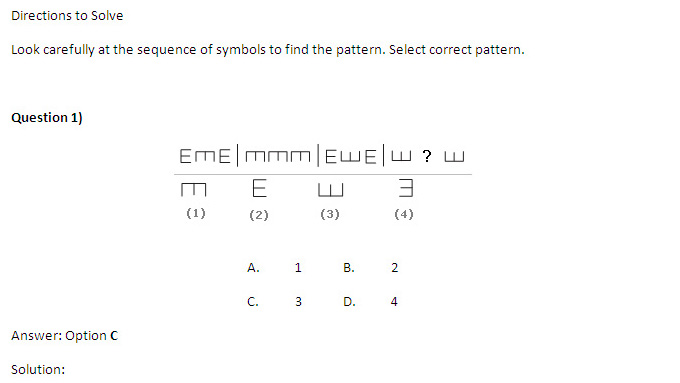 CAT 2013 : Logical Reasoning - Letter and Symbol Series