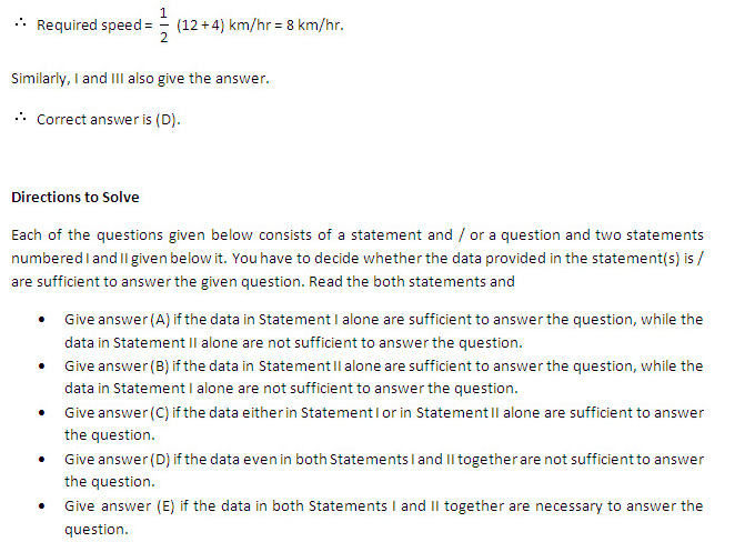 CAT 2013: Data Interpretation - Questions with Statements