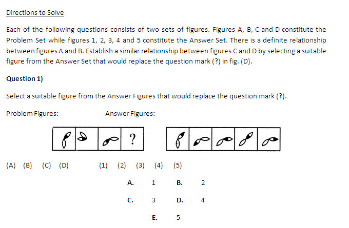 SNAP 2013: Non Verbal Reasoning - Analogy