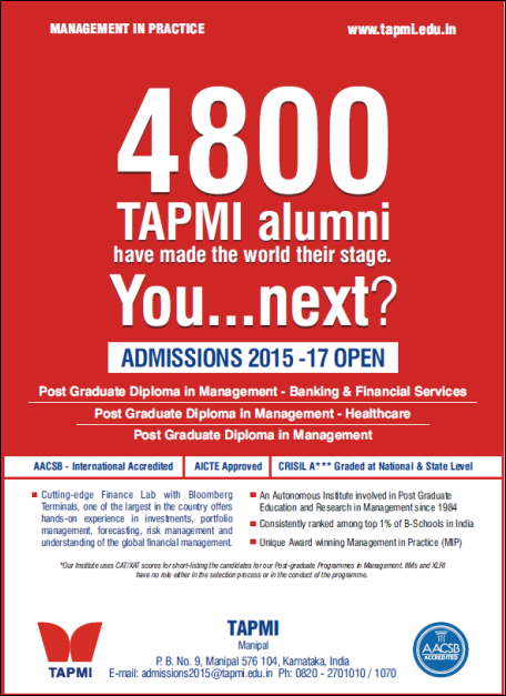 MBA Admission News: TAPMI