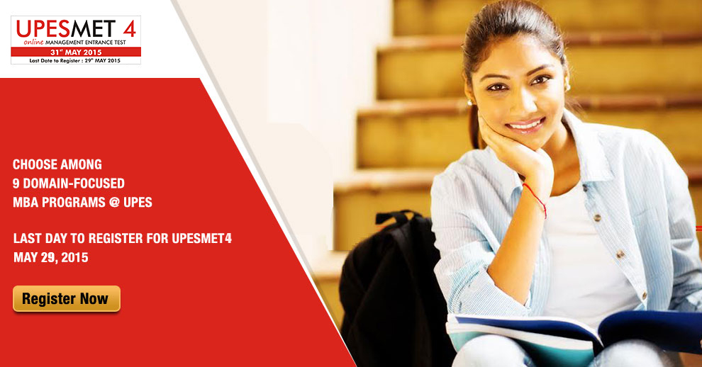 MBA Admission News - UPESMET 4