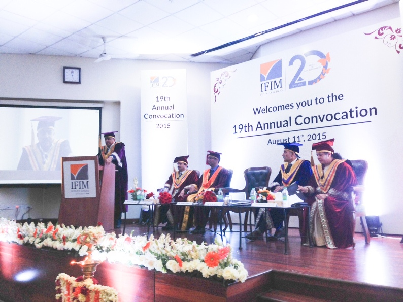 IFIM Business School - 19th Convocation