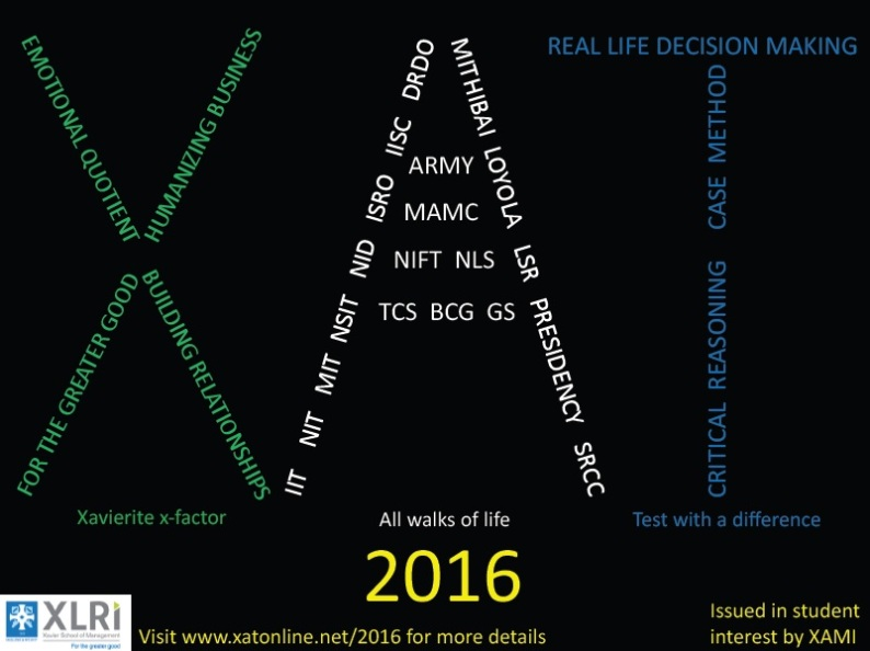 Continuity and Change in XAT-2016