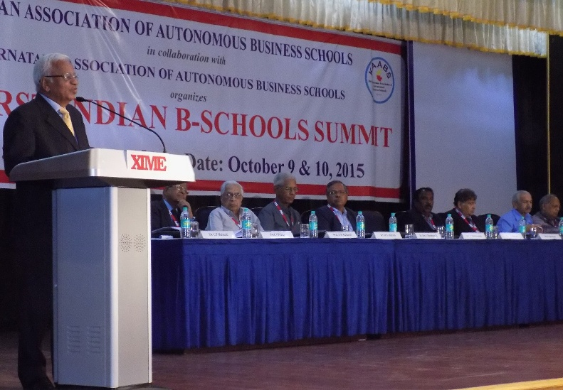 IAABS Recently Organised The 1st Indian B-School Summit