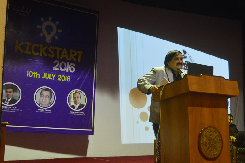 Kickstart- Entrepreneurship Awareness Drive 2016 | XIMB