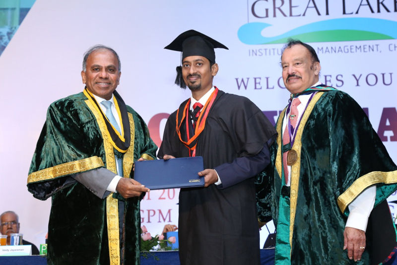 12 Annual Convocation | Great Lakes Institute of Management Chennai