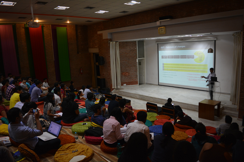 MICA | Scholarly discussion on the GST bill