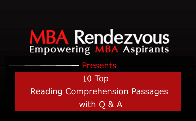 Top 10  Reading Comprehension Passages with Q&A