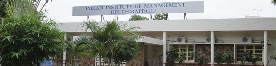 IIM Trichy Admission Policy: PGP 2016-18
