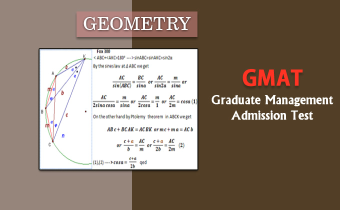 GMAT - Geometry Problems and Questions with Answers