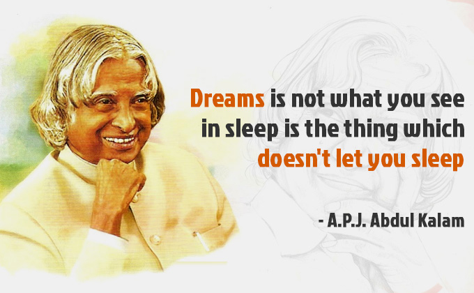 Motivational story|Dr. A. P. J. Abdul Kalam