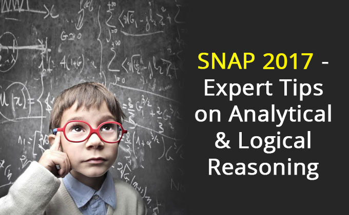 Expert Tips on Analytical & Logical Reasoning| SNAP 2017 | SNAP test | LR section