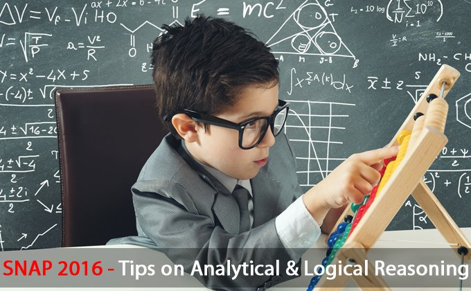 SNAP 2016 : Tips on Analytical and Logical Reasoning