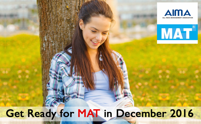 Get Ready For December MAT 2016