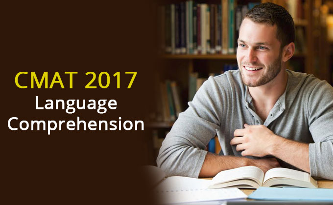 CMAT 2017 : Expert Explanation On Language Comprehension