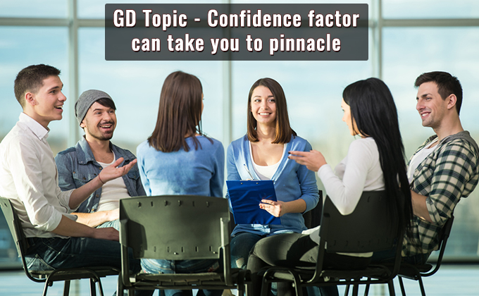 Confidence factor can take you to pinnacle