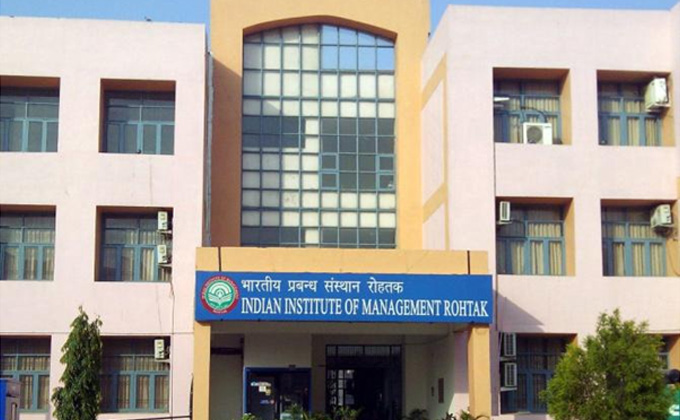 IIM-Rohtak Placements: Top salary rises 42%