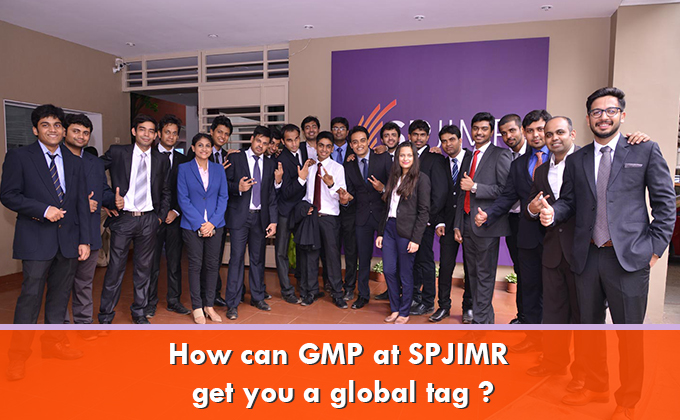 How can GMP at SPJIMR get you a global tag?