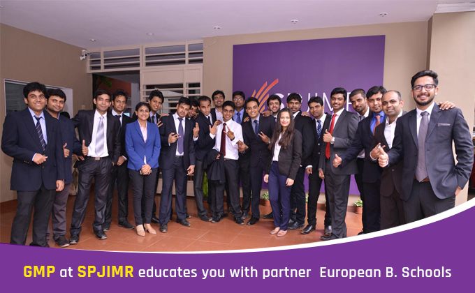 GMP at SPJIMR educates you with partner European B.Schools