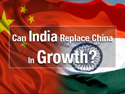 Can India Replace China In Growth?