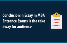 Tips for conclusion write-up | Tips for MBA entrance exams