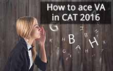 How to ace VA ( Verbal Ability) in CAT 2017?