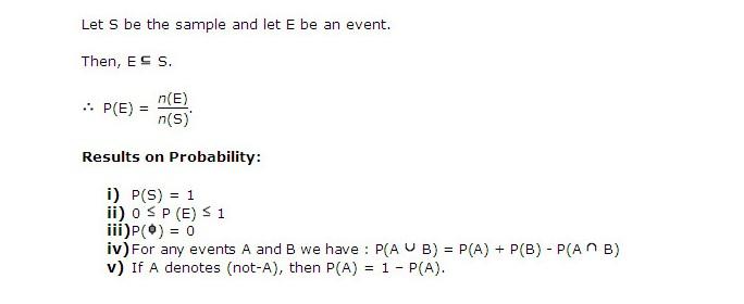 Expert Aptitude formula on Probability Qs