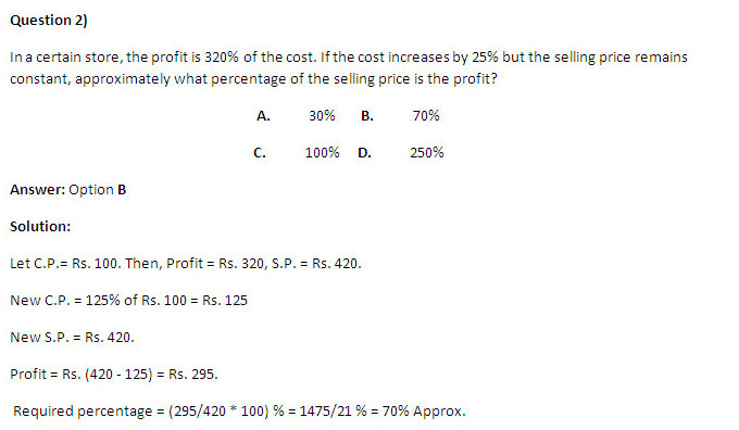 MAT 2014 Preparation Material - Profit and Loss Questions