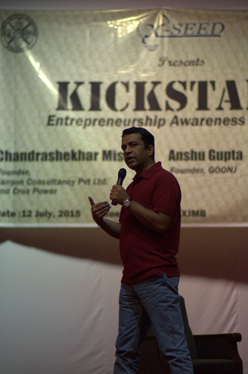 XIMB - Entrepreneurship Awareness Drive 2015