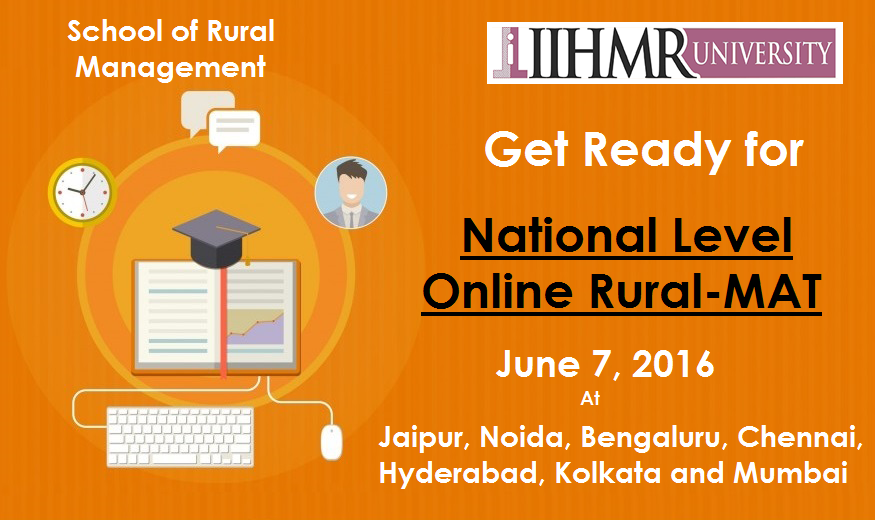 IIHMR University | National level online rural - MAT