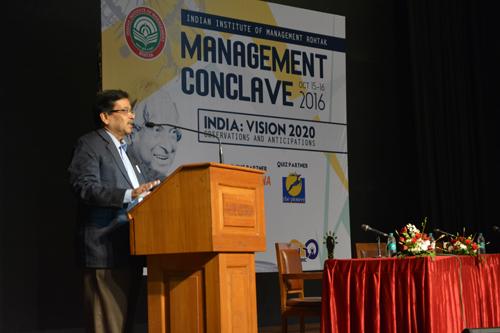 IIM Rohtak organizes Management Conclave | IIM Rohtak | India Vision 2020