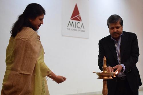 Walmart India, MICA Leadership Series, MICA, Mr. KrishIyer