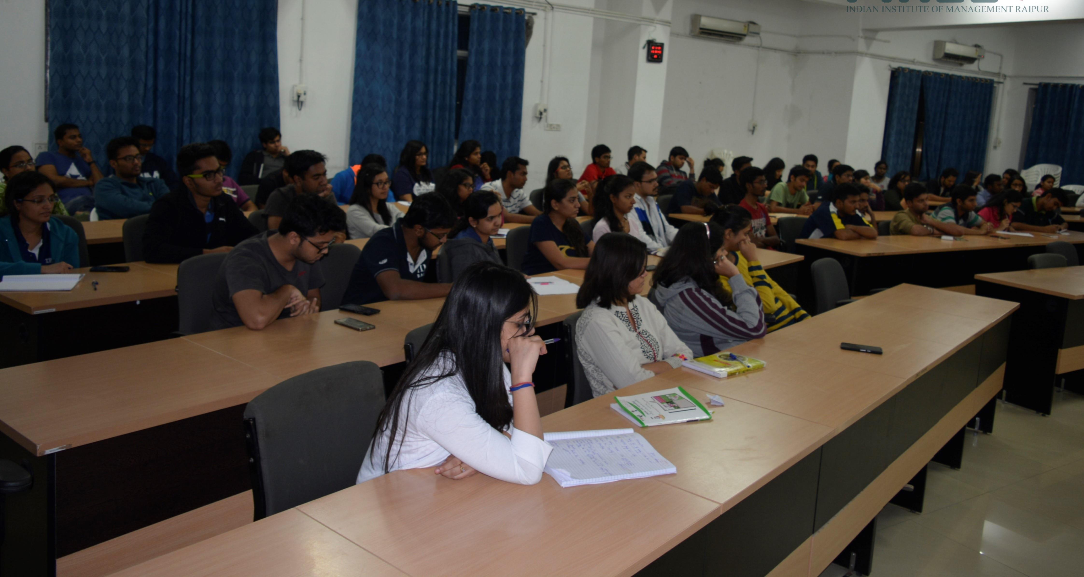IIM Raipur Demonitization