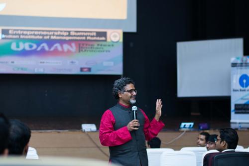 Shri Suresh Prabhu, Railway Minister, UDAAN, third Entrepreneurship Summit, IIM Rohtak