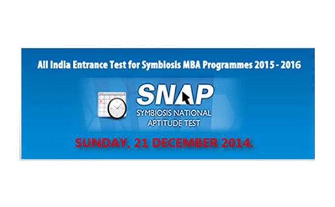 SNAP Registration Starts from September 2019