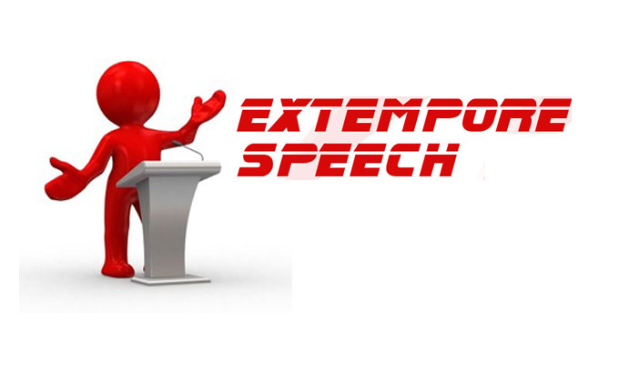 Extempore For MBA,  Extempore Speaking Tips, Extempore Speech