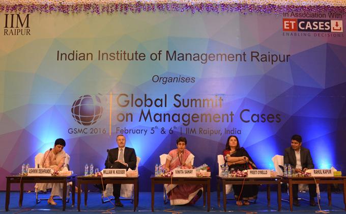 Creating Platform for India-centric Cases: IIM Raipur Takes