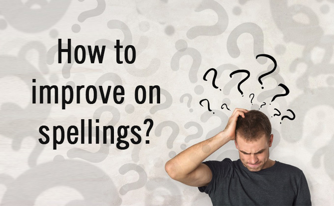 How to improve on spellings | MBARendezvous