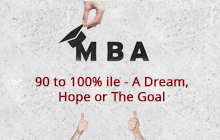 90 -100 Percentile | Hard work | MBA Entrance Exam